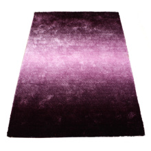 Silk Polyester Shaggy Gradational Color